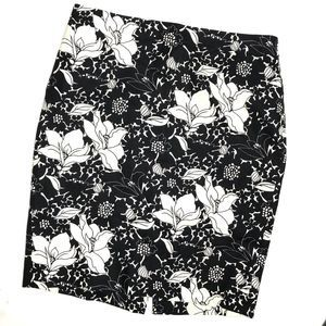 J CREW FACTORY Floral Pencil Skirt